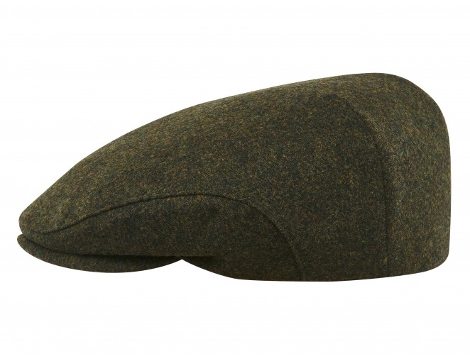 Derby - Klassische, elegante Schiebermütze genäht aus 100% merinowolle