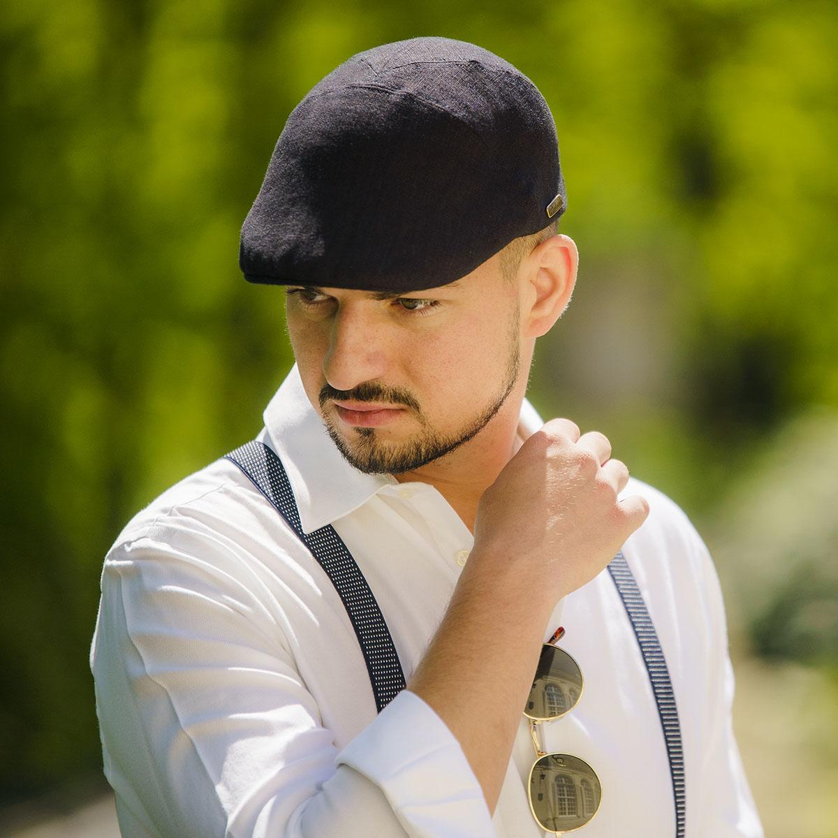 Ivy Five - stylische kopfbedeckung frauen, moderne mützen für männer