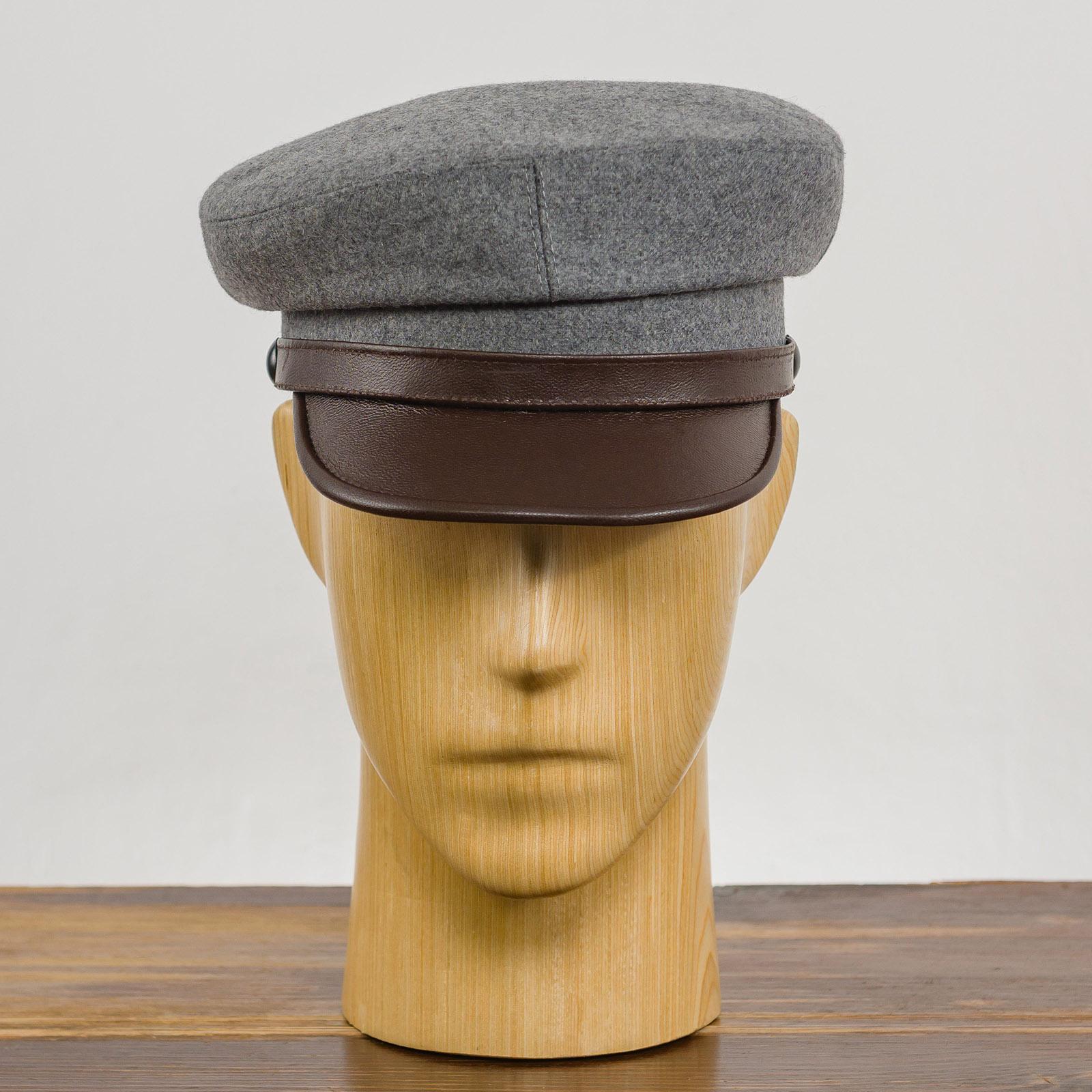 Maciejowka model 4 - Mütze mit schirm, kappe männer, trendige mützen