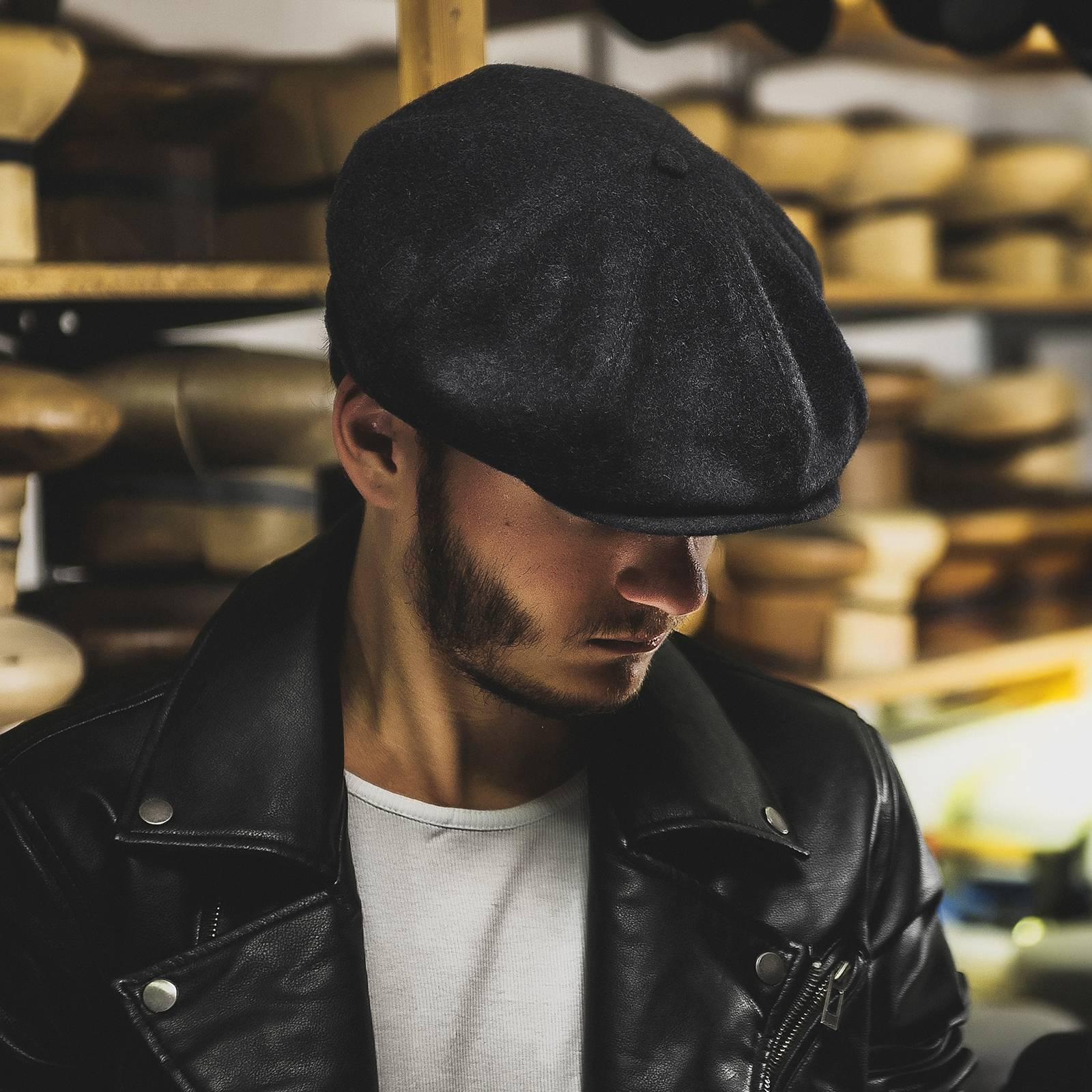 Mütze Peaky Blinders - 100% Wolle, coole wintermütze, männer mütze