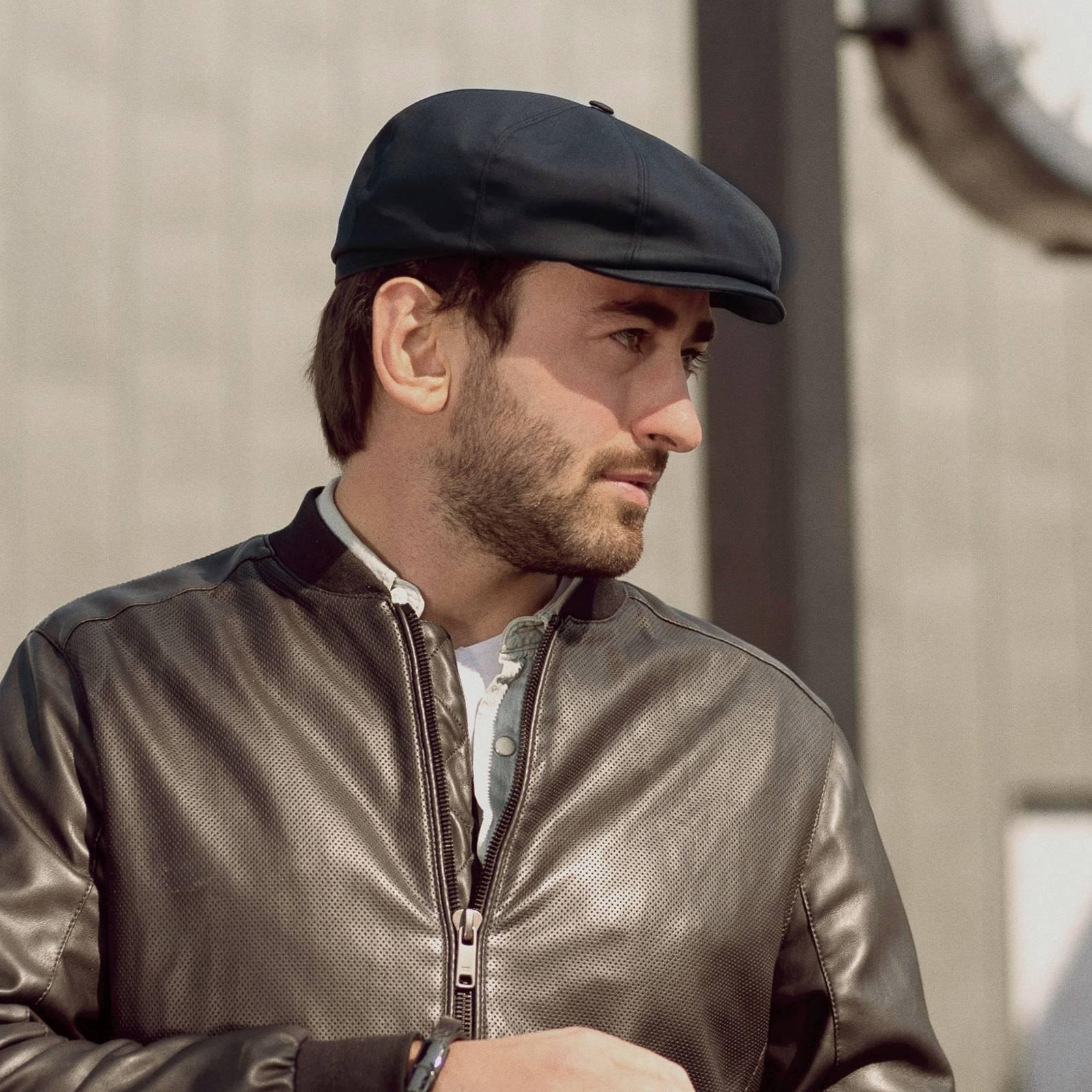 Shelby - Mütze Peaky Blinders, schwarz mütze, dunkelblau männer mütze