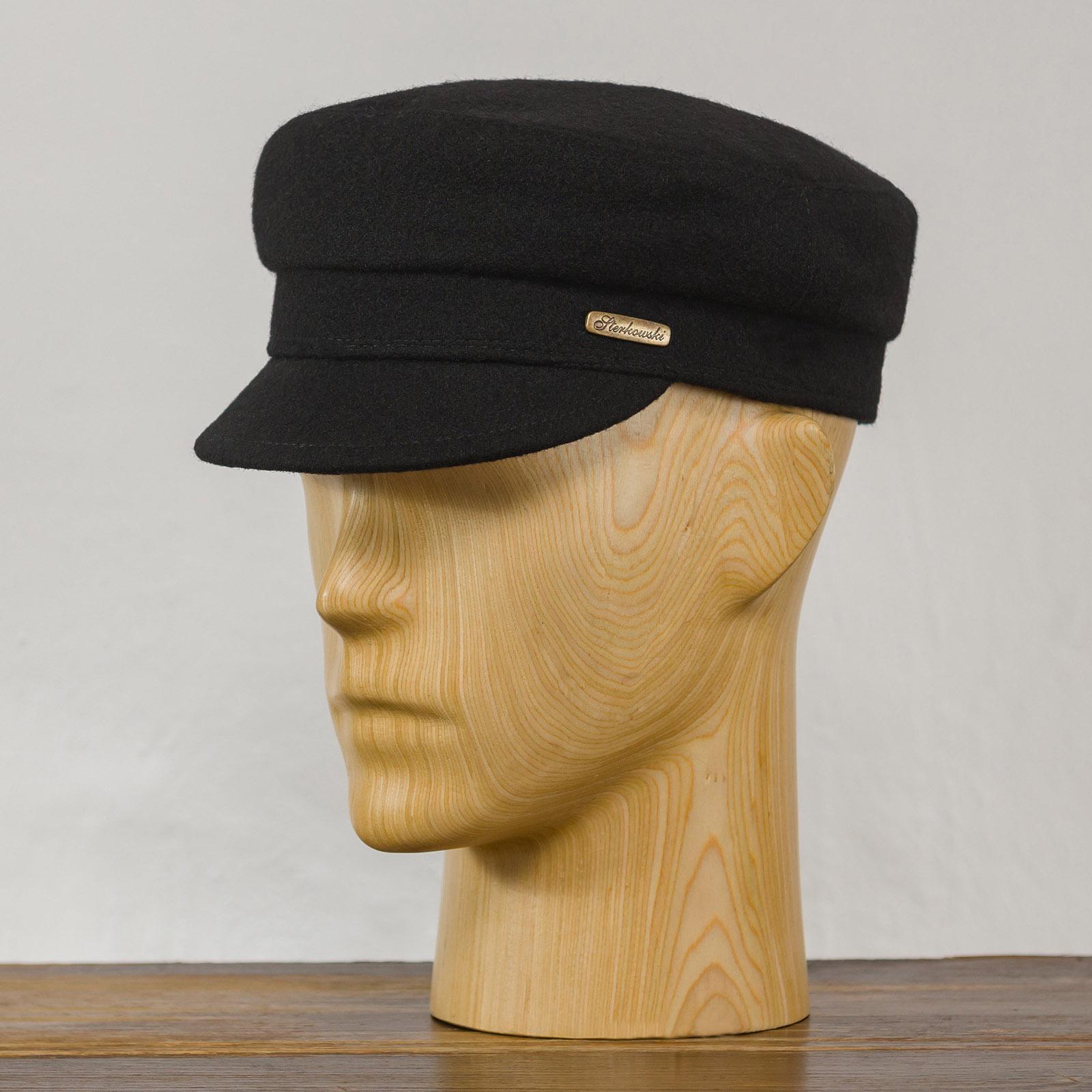 Fidler- mütze mit schirm für männer und frauen, elegante kopfbedeckung