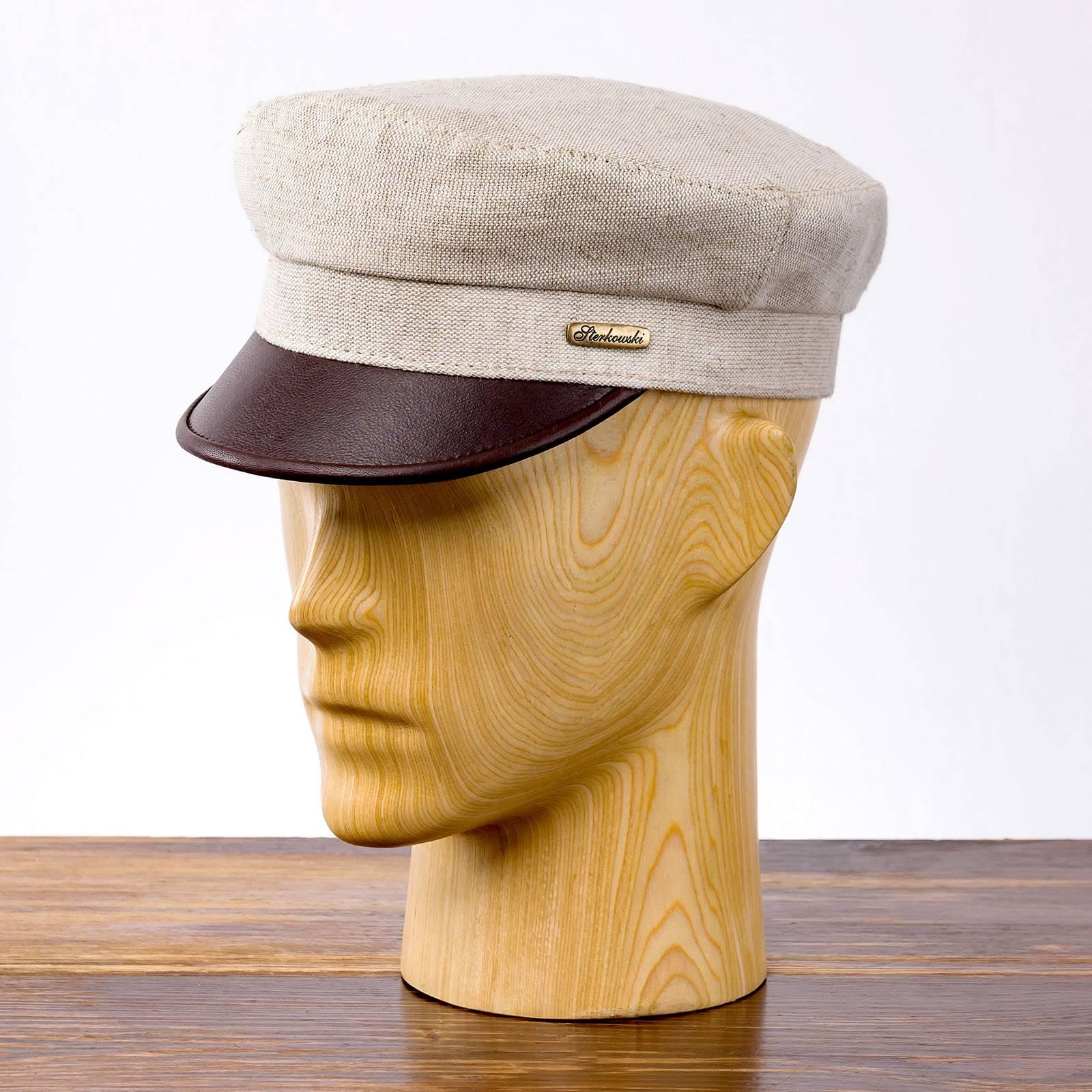 Fiddler - mütze mit schirm für frauen und männer, kopfbedeckung sommer
