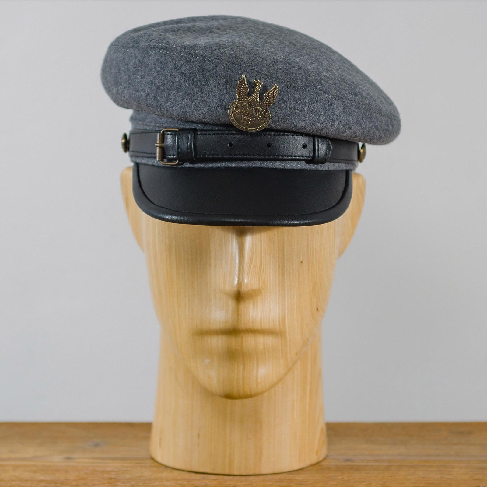 Legion Maciejowka Replica- historisch und männer Mütze mit Lederschirm